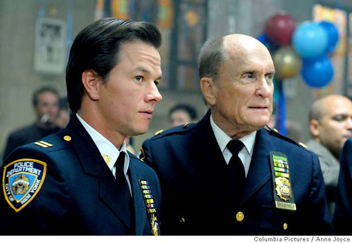 PK-12[WOTN-093] : Mark Wahlberg (left) as Joseph Grusinsky and Robert Duvall (right) as Burt Grusinsky in Columbia Pictures�/2929 Productions� We Own the Night, written and directed by James Gray.