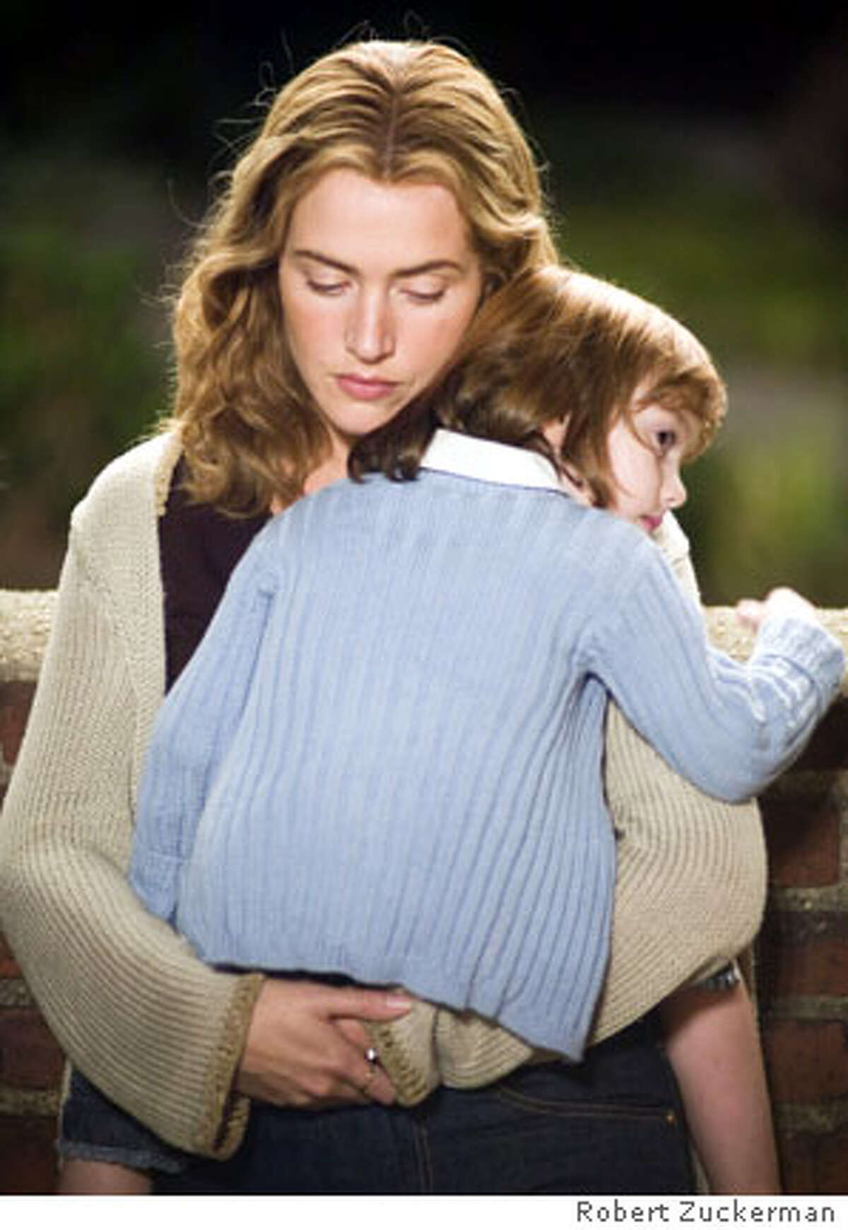 Kate Winslet and Sadie Goldstein in New Line Cinema's Little Children - 2006 Adjust density as this was not the lighting set-up. -erino