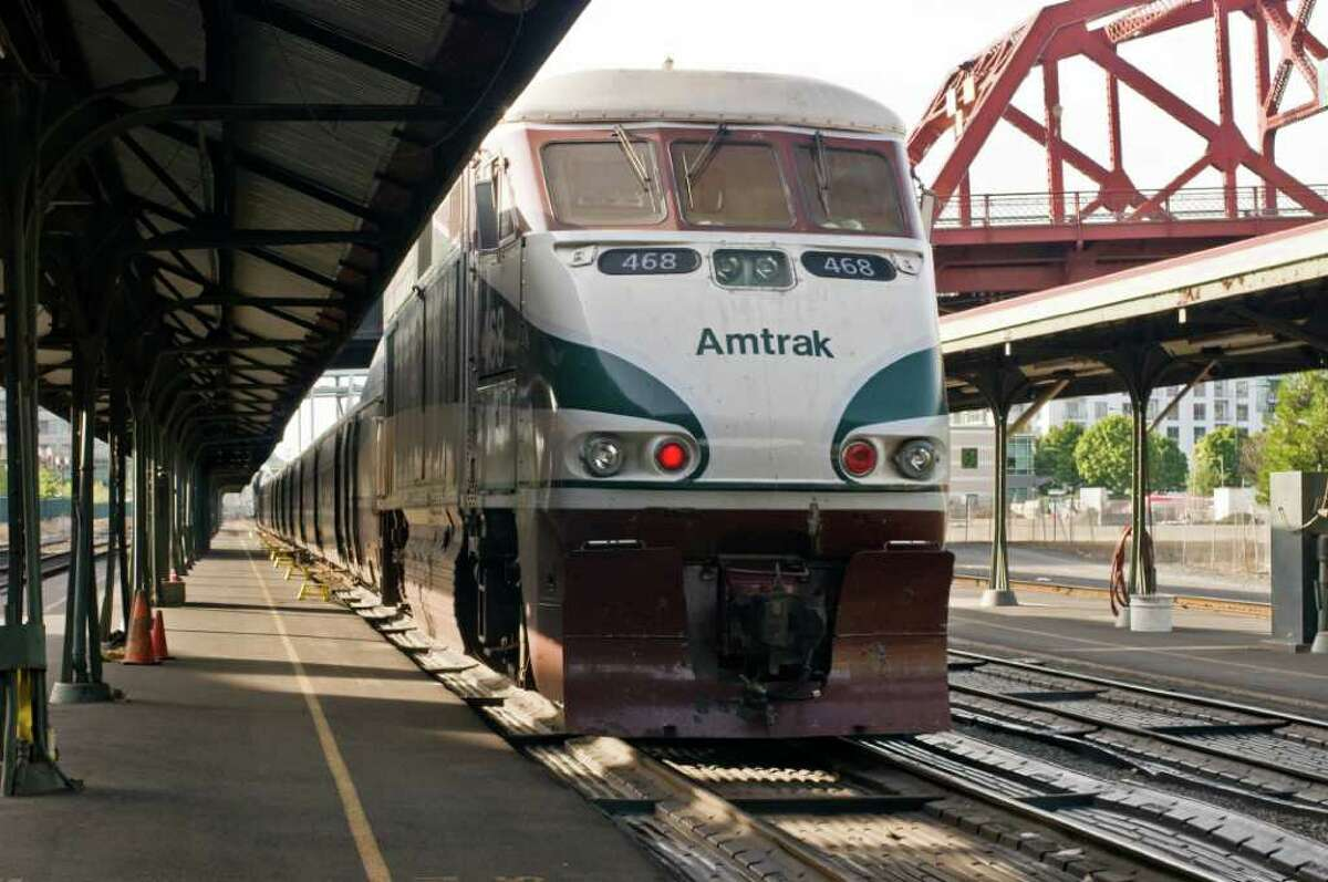 King Street Station is the hub of Amtrak service in Seattle. Under the initial Trump budget, two long-distance routes -- the Empire Builder and Coast Starlight -- would be eliminated.