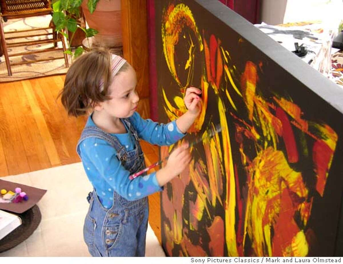 My Kid Could Paint That Marla Olmstead Photo by Mark and Laura Olmstead. Courtesy Sony Pictures Classics. All Rights Reserved.