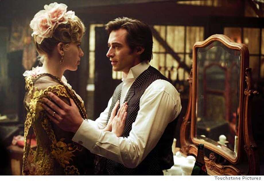 Scarlett Johansson and Hugh Jackman in Touchstone Pictures' The Prestige - 2006 Photo: Touchstone Pictures
