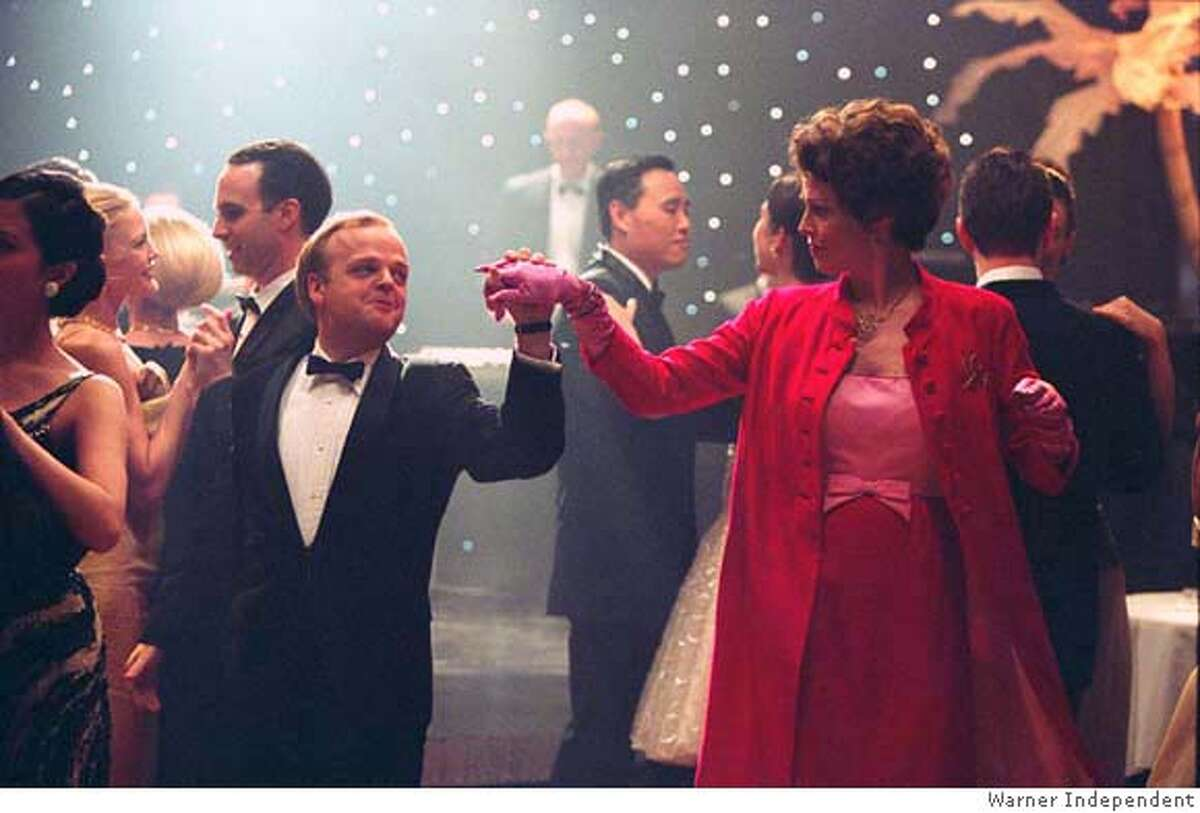Toby Jones as Truman Capote and Sigourney Weaver as Babe Paley in Warner Independent's Infamous - 2006