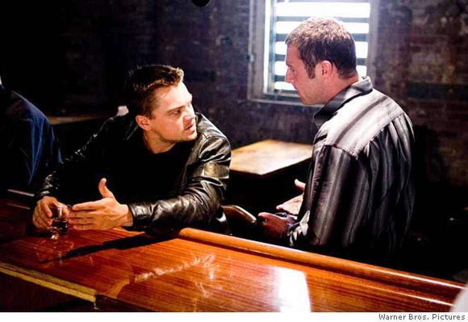 "Leonardo DiCaprio plays an officer who reluctantly goes undercover to join a gang in ""The Departed."" Photo courtesy of Warner Bros. Pictures"