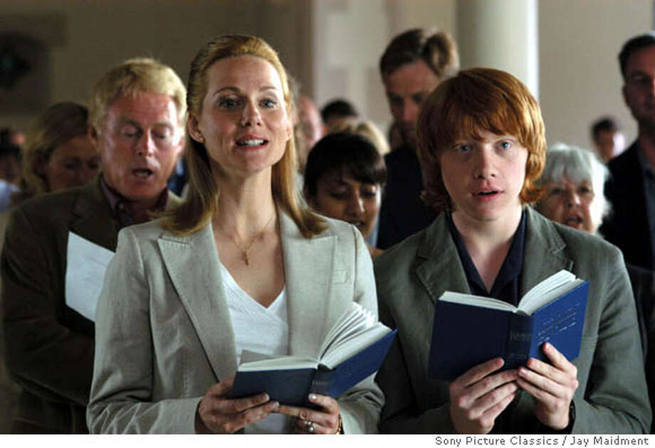 Driving Lessons Left: Laura Linney as Laura and Rupert Grinn as Ben.  Jay Maidment/Sony Picture Classics. Photo: Jay Maidment