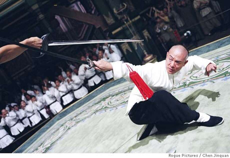 BP251.tif  BP251 � Jet Li stars in Ronny Yu�s JET LI�S FEARLESS, a Rogue Pictures release.  Photo by Chen Jinquan. Photo: Photo By Chen Jinquan.