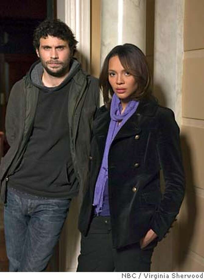 "This undated promotional photo, provided by NBC Universal, shows Jeremy Sisto as Knappm and Carmen Ejogo as Turner in the network's new dramatic series ""Kidnapped"" about the abduction of a rich kid. (AP Photo/NBC, Virginia Sherwood) Photo: VIRGINIA SHERWOOD"