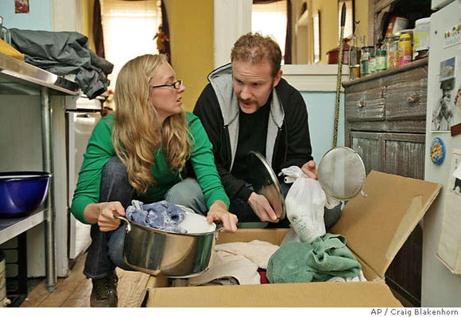 "Scene from ""30 Days -- Season 1."" Associated Press photo by Craig Blakenhorn"