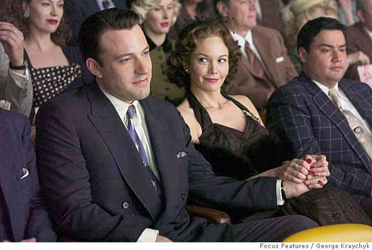 DF-00386 - Ben Affleck (left) and Diane Lane (right) star in Allen Coulter's HOLLYWOODLAND, a Focus Features release. Photo by George Kraychyk.