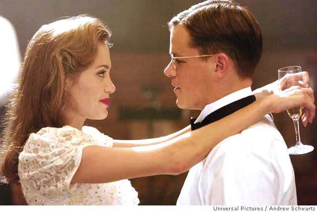 "In this photo provided by Universal Pictures, Clover Russell (Angelina Jolie) intrigues her future husband, Edward Wilson (Matt Damon), in the untold story of the birth of the CIA, ""The Good Shepherd"". (AP Photo/Universal Pictures/Andrew Schwartz) Photo: Andrew Schwartz"