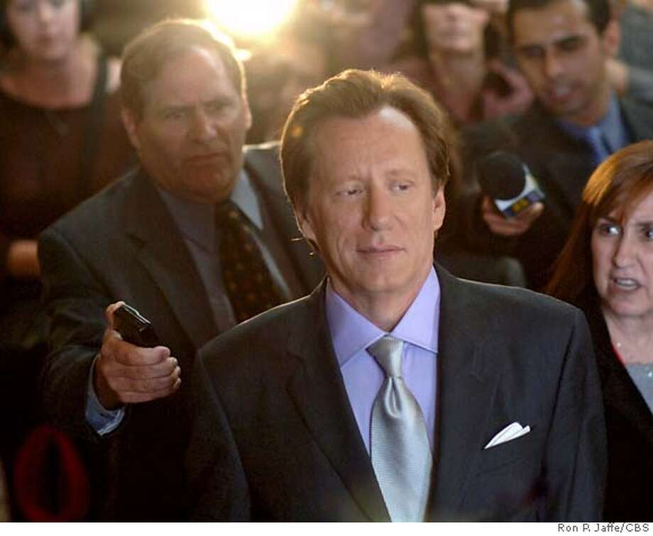 """""""LAPD Blue"""" -James Woods stars as Sebastian Stark in SHARK on the CBS Television Network.Photo: Ron P. Jaffe/CBS  �2006 CBS Broadcasting Inc. All Rights Reserved. MANDATORY CREDIT; NO ARCHIVE; ; NORTH AMERICAN USE ONLY Photo: RON P. JAFFE"""