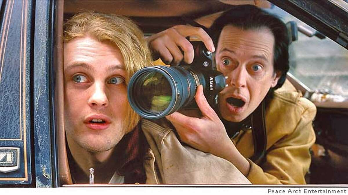 Peace Arch Entertainment provided this photo of (left to right) Michael Pitt and Steve Buscemi in