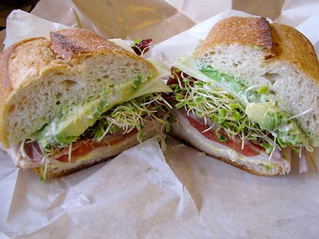 Glen Ellen Village Market sells made to order, Special Creations sandwiches, including the Jack London, made with baked turkey, crunchy bacon, avocado, sprouts and Monterey Jack cheese. Photo: Stephanie Wright Hession