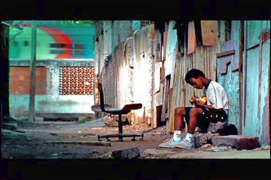 FAVELA RISING documents a man and a movement, a city divided and a favela (Brazilian squatter settlement) united. Haunted by the murders of his family and many of his friends, Anderson Sa is a former drug-trafficker who turns revolutionary in Rio de Janeiro�s most feared slum. Movie Frame grab. Photo: Handout
