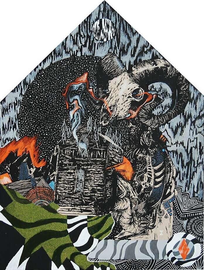 Collaborative artwork by Craig Rodgers, Dan Bortz, and Brett Flanigan Photo: Old Crow Tattoo