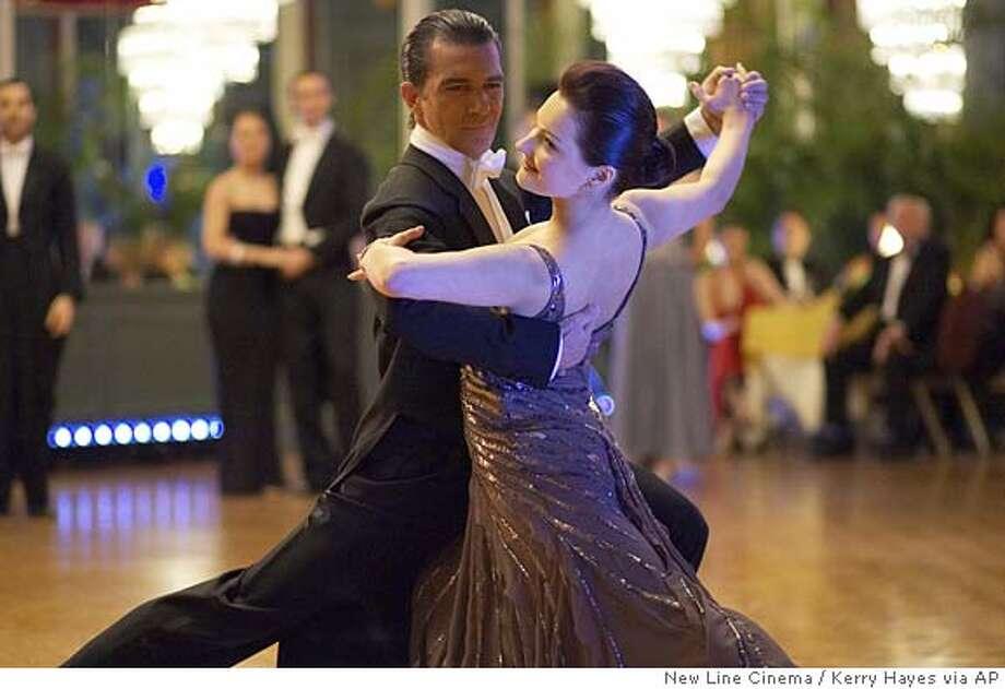 Antonio Banderas,Anna Dimitrie Melamed Photo: KERRY HAYES