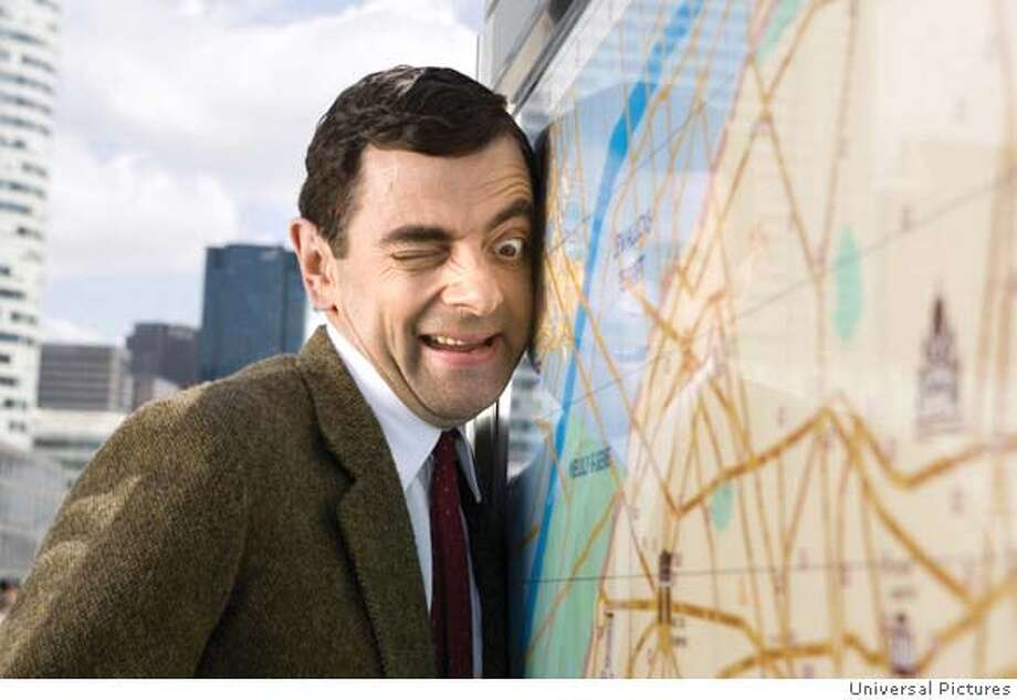 "Universal Pictures provided this photo of Rowan Atkinson in ""Mr. Bean's Holiday."" (AP Photo/Universal Pictures/Giles Keyte) NO SALES. Photo: Giles Keyte"