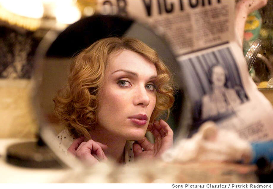 "An undated publicity photograph shows actor Cillian Murphy in a scene from the film ""Breakfast on Pluto"". Murphy received a Golden Globe nomination as best actor in a musical or comedy motion picture for his role in the film as nominations were announced at a news conference in Beverly Hills December 13, 2005. The award show, which honors excellence in film and television, will be telecast to a worldwide audience from Beverly Hills January 16, 2006. NO ARCHIVES REUTERS/Patrick Redmond/Sony Pictures Classics/Handout  Sony Pictures Classics / Patrick Redmond  Ran on: 12-18-2005  Heath Ledger in &quo;Casanova&quo; opens Christmas Day at the Metreon. ALSO Ran on: 12-19-2005  Cillian Murphy's preparation for &quo;Breakfast on Pluto&quo; included nightclubbing with transvestites. 0 Photo: Sony Pictures Classics"