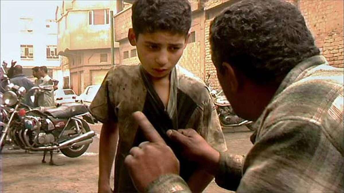 Mohammed Haithem Majid and Abu Ziad, Baghdad Iraq in Fragments