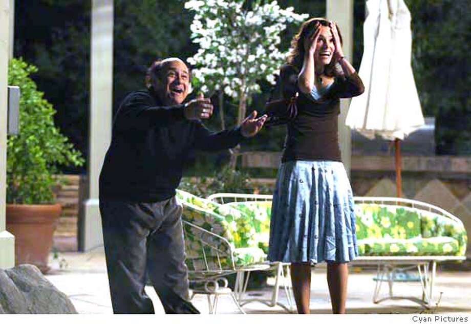 "Danny Devito and Parker Posey in ""The Oh in Ohio."" Credit: Cyan Pictures Photo: Cyan Pictures"