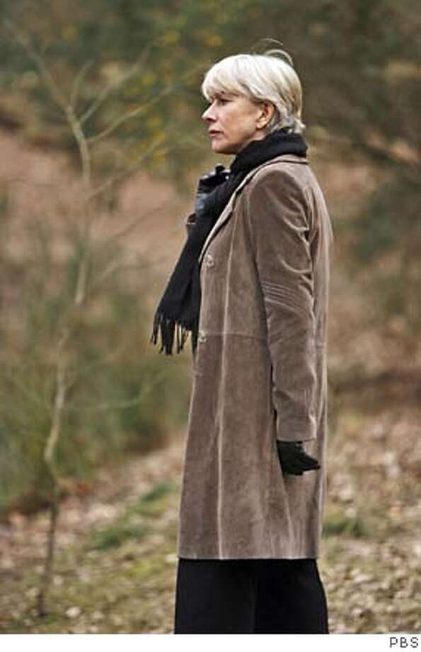 Drink, loneliness, and the grueling life of a crime fighter are finally catching up with Detective Superintendent Jane Tennison, now clinging to her career so that she can solve one last heartbreaking homicide on Prime Suspect 7, airing Sundays, November 12 and 19, 2006, at 9pm on MASTERPIECE THEATRE on PBS. Photo: Ho