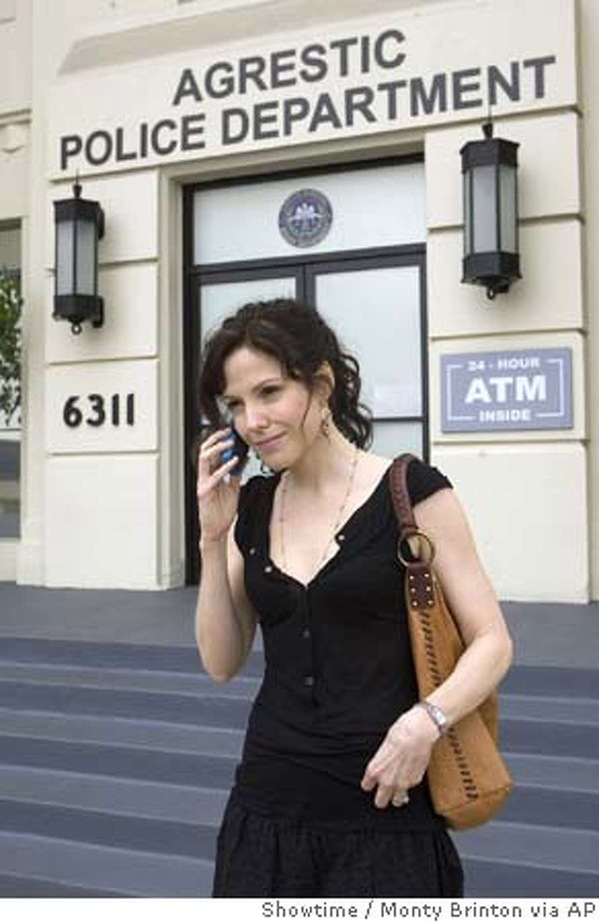 This undated photo, provided by Showtime, shows actress Mary-Louise Parker as Nancy Botwin in Showtime's comedy series