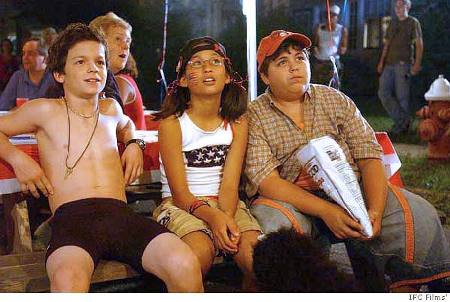 Conor Donovan, Zoe Weizenbaum and Jesse Camacho in IFC Films' Twelve and Holding - 2006 Photo: IFC Films'