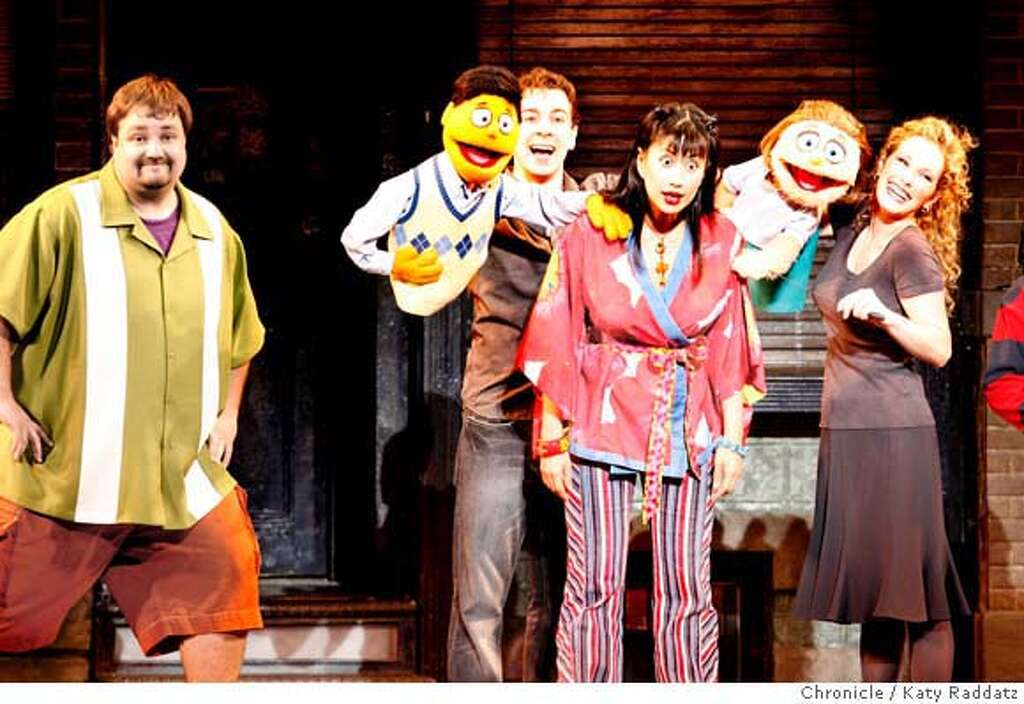 Review: 'Avenue Q' raunchy, irreverent fun - SFGate