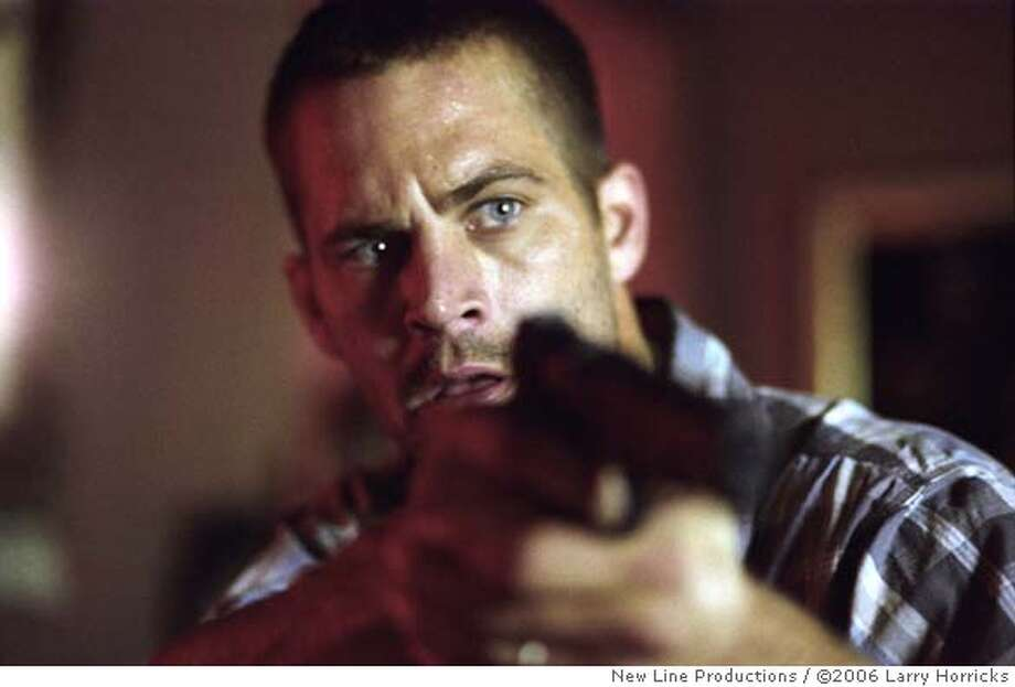 Paul Walker as mob member Joey Gazelle in New Line Cinema's fast-paced crime drama, 'Running Scared.' Photo Credit: 2006 Larry Horricks/New Line Productions Photo: Xx