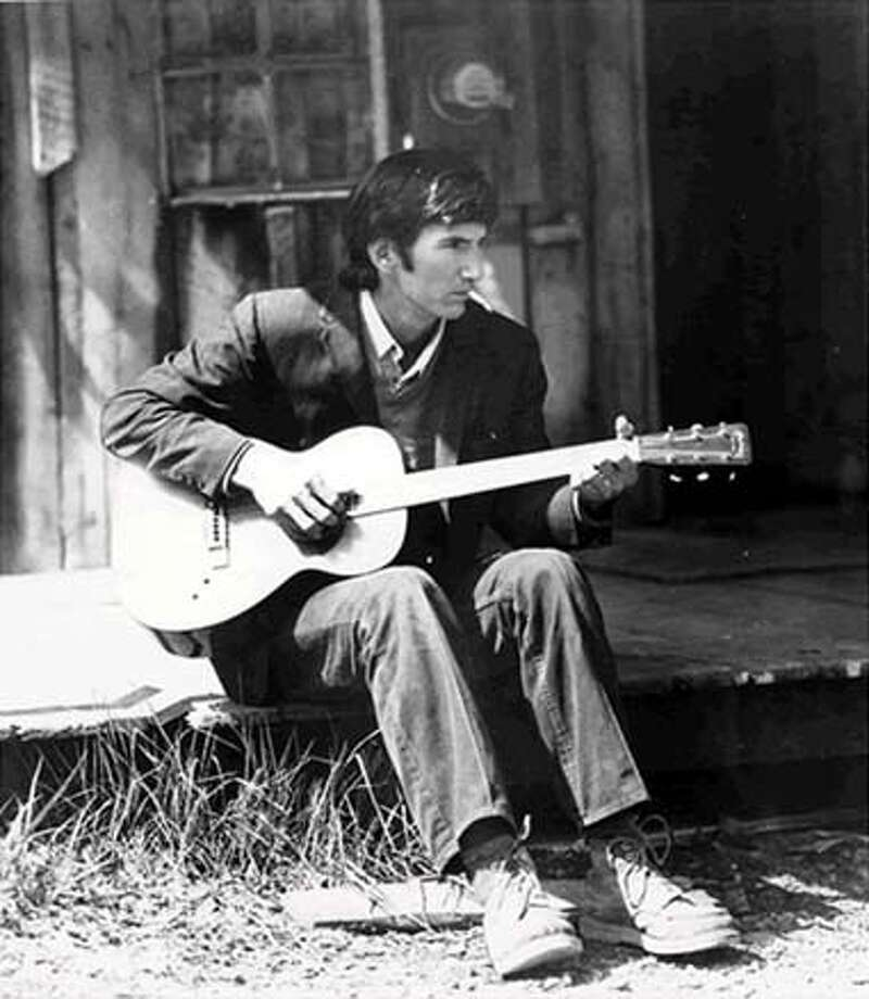 Townes Van Zandt in Palm Pictures film Be Here to Love Me: A Film about Townes Van Zandt. Photo: Ho