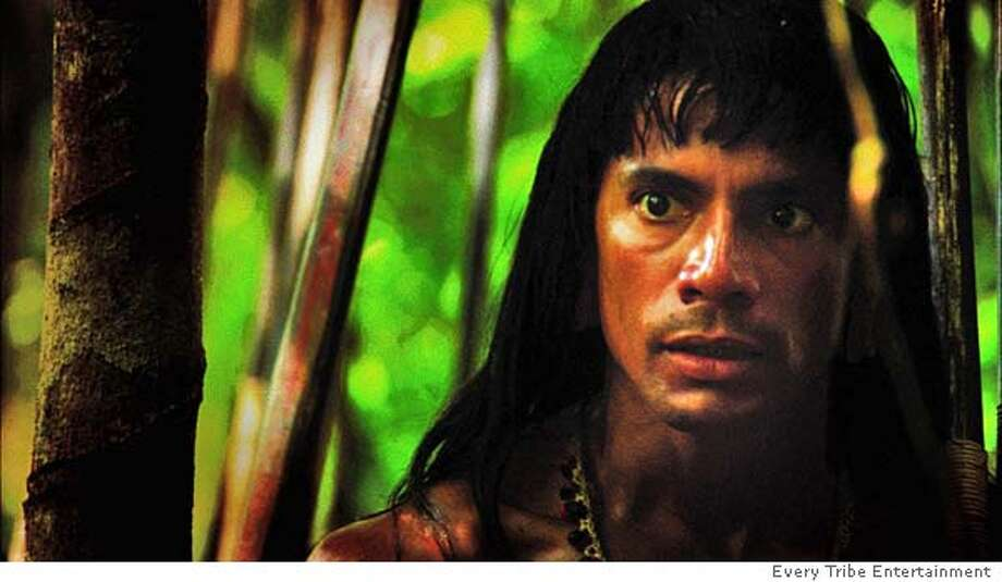 Louie Leonardo as Mincayani in End of the Spear. Photo: Every Tribe Entertainment