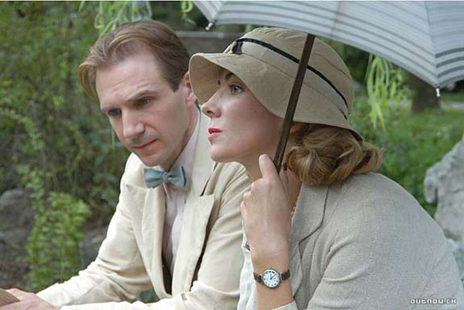 "Ralph Fiennes and Natasha Richardson in ""The White Countess"" Photo: Sony Pictures Classics"