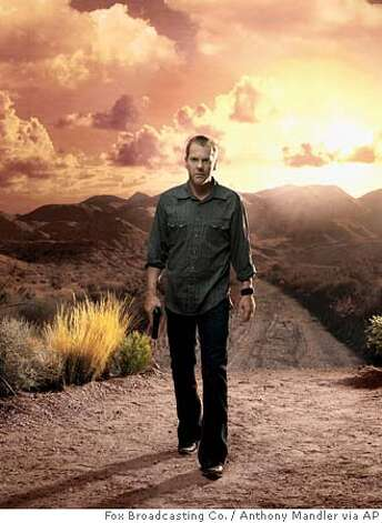 "In this undated publicity photo released by Fox TV, actor Kiefer Sutherland appears in the hit series ""24,"" which opens its fifth season with a four-hour, two-night marathon on Sunday, Jan. 15 and Monday, Jan. 16 at 8 p.m., EST. (AP Photo/2005 Fox Broadcasting Co., Anthony Mandler) Photo: ANTHONY MANDLER"