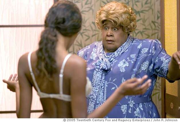 Big Momma (Martin Lawrence) reacts to the considerable charms of an undressed woman. Photo credit: John P. Johnson TM and � 2005 Twentieth Century Fox and Regency Enterprises. All Rights Reserved. Not for sale or duplication. Photo: John P. Johnson