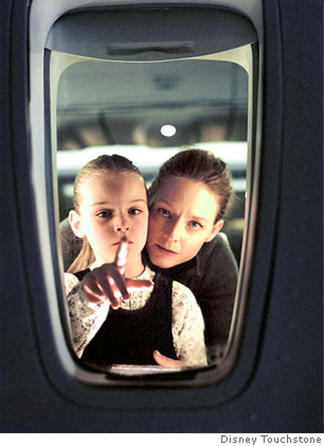 "Handout picture from Disney/Touchstone of Jodi Foster and child actress Marlene Lawston in the thriller ""Flightplan."" Photo: Handout"