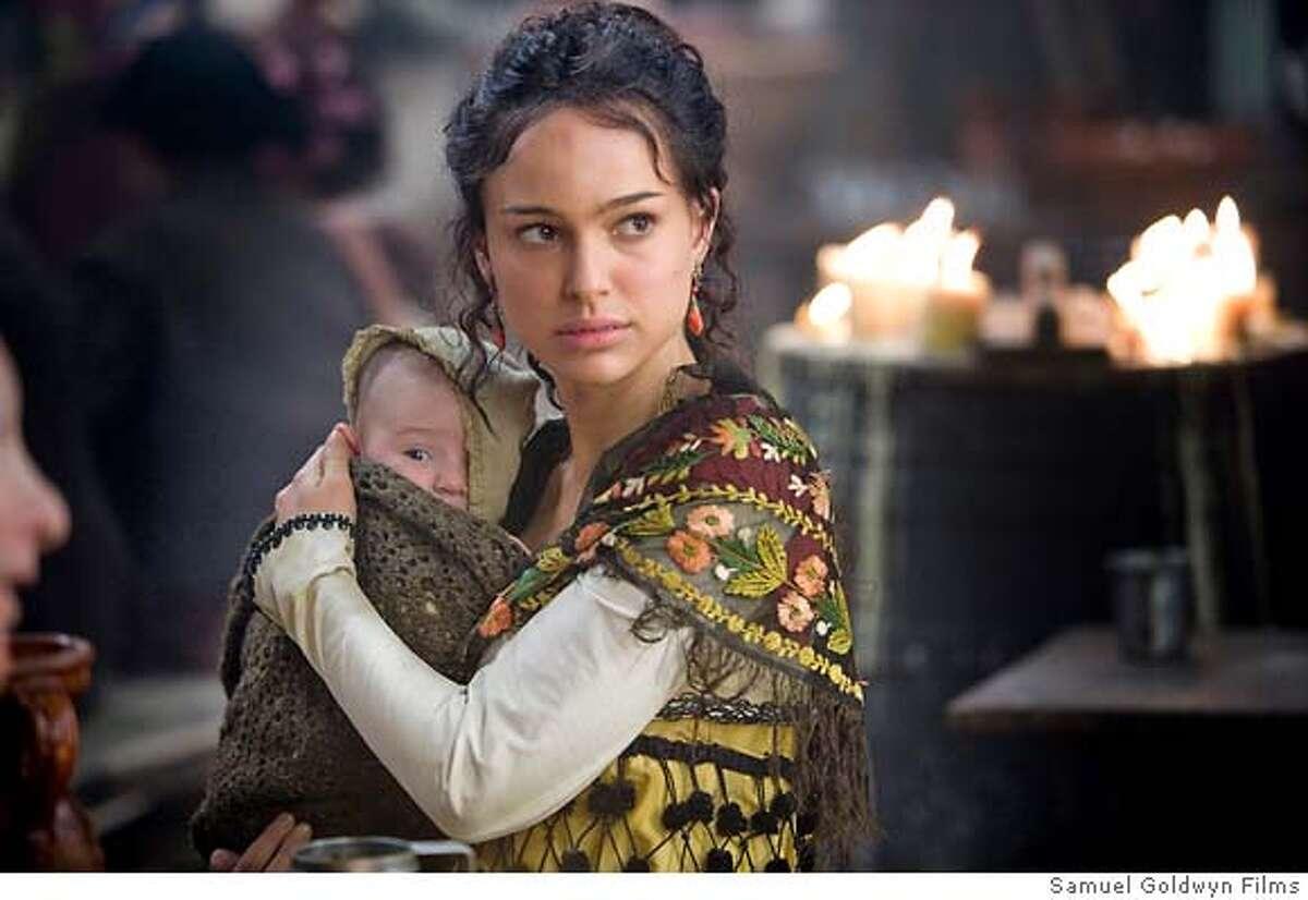 Natalie Portman as Alicia in GOYA'S GHOSTS, directed by Milos Forman, a Samuel Goldwyn Films release.