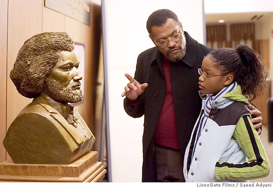 Laurence Fishburne,Keke Palmer Photo: SAEED ADYANI