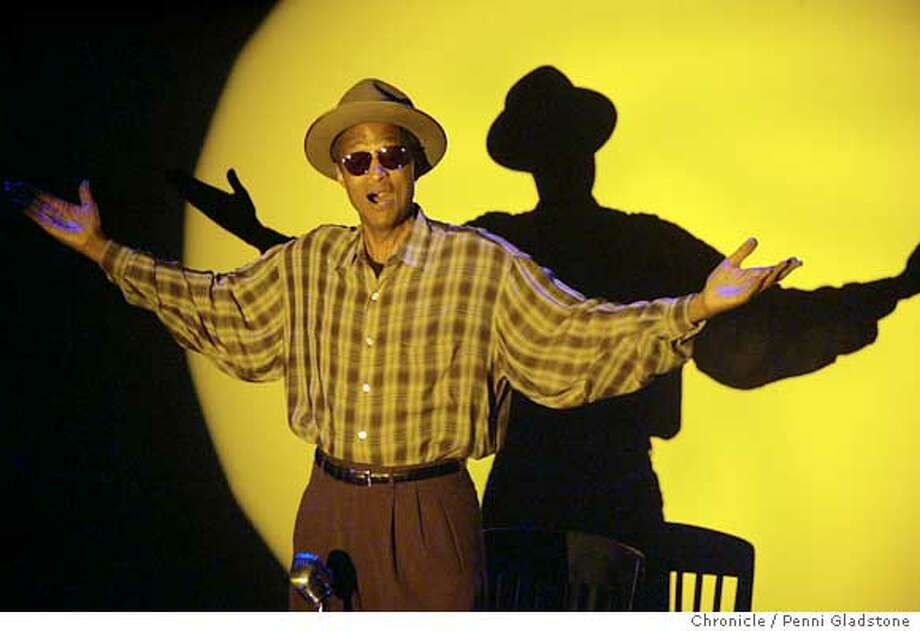 "Preview performance for Walkin' Talkin"" Bill Hawkins. one-man show by W. AllenTaylor at the Marsh .  Photo by Penni Gladstone/The San Francisco Chronicle  Photo taken on 1/5/06, in Berkeley, CA. Photo: Penni Gladstone"