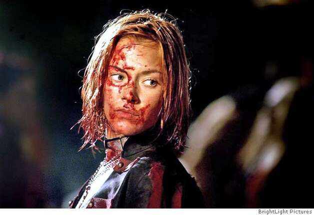 "Actress Kristanna Loken portrayed half-human, half-vampire in the movie version of ""BloodRayne."" Photo: HO"