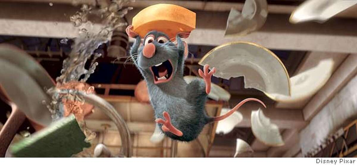 � REMY the rat in a scene from Ratatouille