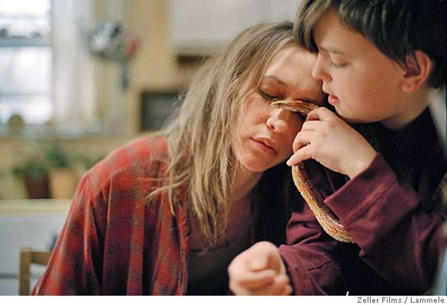 Vera Farmiga as Irene and Jasper Moon Daniels as Ben in Down To the Bone. Lammele/Zeller Films Photo: Lammele/Zeller Films