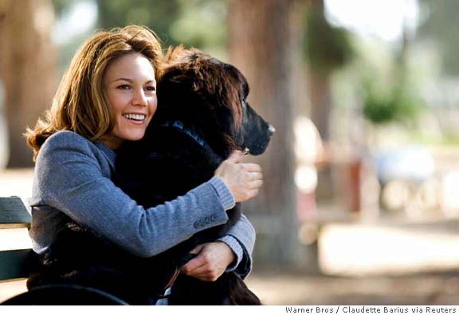 """Diane Lane in scene from her new film """"Must Love Dogs"""" Photo: Claudette Barius"""