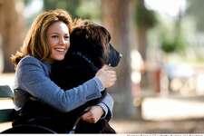 "Diane Lane in scene from her new film ""Must Love Dogs"""