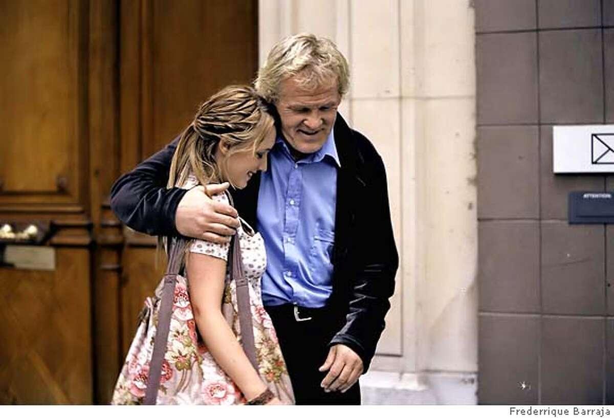 """� Ludivine Sagnier as Claire and Nick Nolte as Vincent in Alfonso Cuar�n's 'Parc Monceau' segment of the movie """"PARIS, JE T'AIME"""". Photo credit: FrZ�dZ�rique Barraja, Victoires International 2006."""