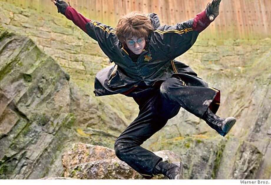 DANIEL RADCLIFFE as Harry Potter in Warner Bros. Pictures� fantasy �Harry Potter and the Goblet of Fire.� Murray Close / Warner Bros. Photo: Murray Close