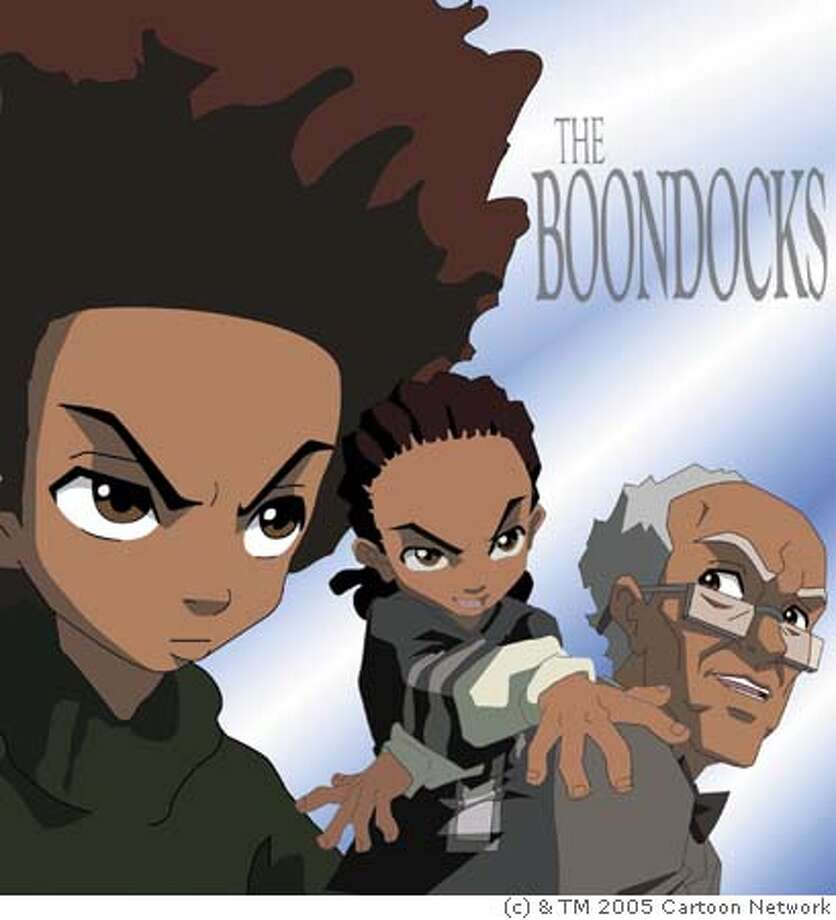 .JPG The Boondocks: The Three Freemans  Air Date: Premiere Date: Nov. 6, 2005 Photo by: (c) & TM 2005 Cartoon Network Photo: X