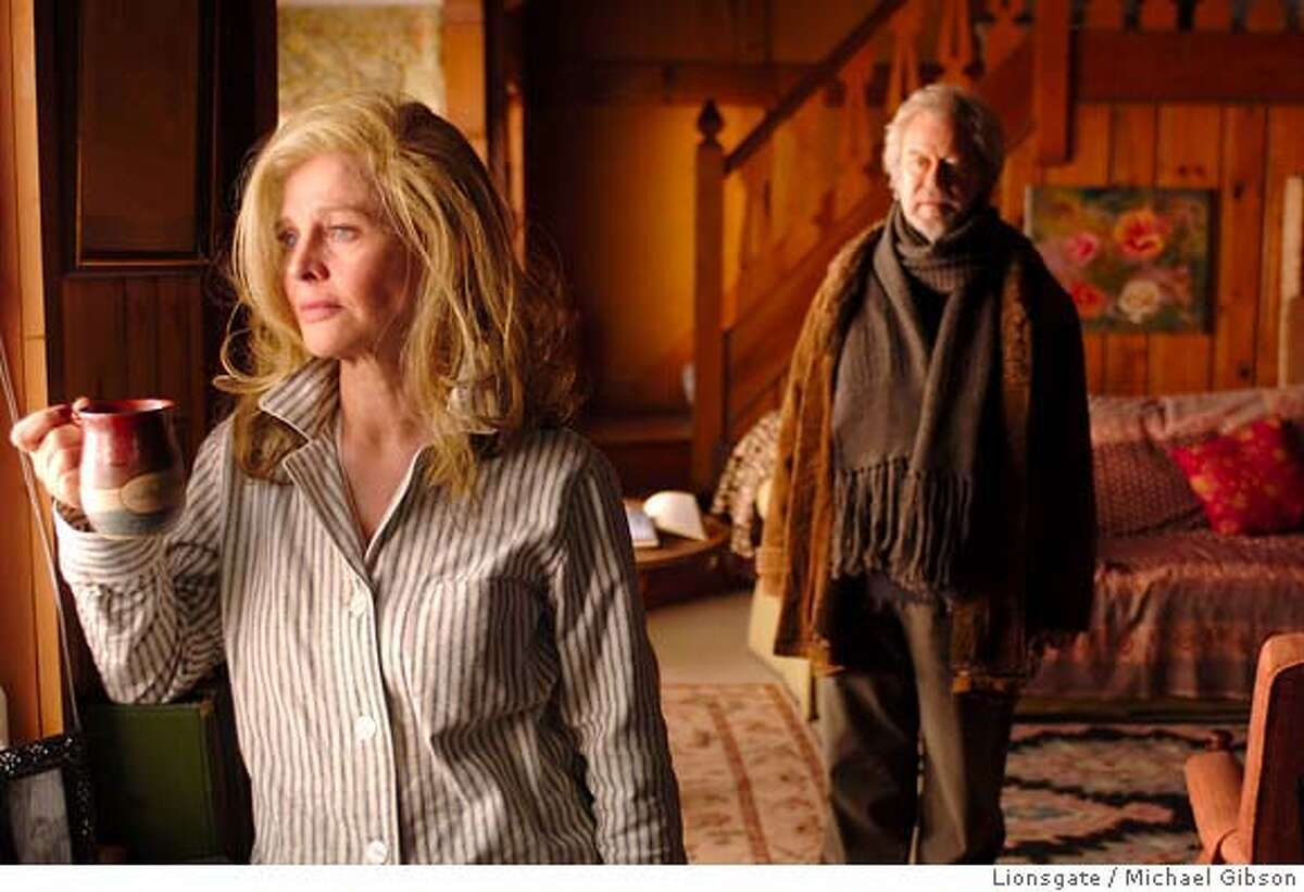 Fiona (Julie Christie, foreground) and Grant (Gordon Pinsent) in AWAY FROM HER. Photo credit: Michael Gibson Ran on: 05-10-2007 Julie Christie and Gordon Pinsent star in Away From Her,'' about serious complications occurring in a long marriage. Ran on: 05-10-2007 Ran on: 05-10-2007 Ran on: 05-10-2007