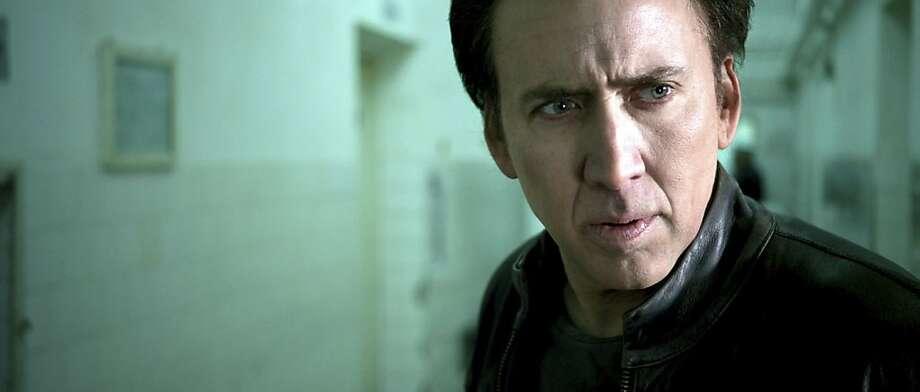 "Nicolas CAge in ""Ghost Rider: Spirit of Vengeance."" Photo: Columbia"