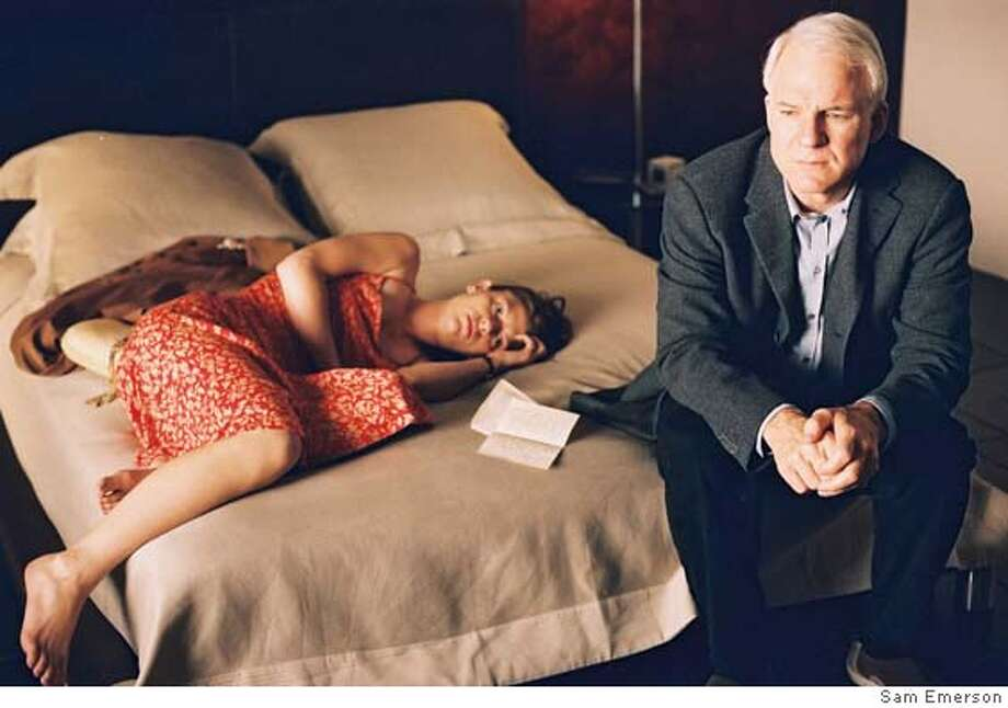 SHOP28 L-R: Clare Danes, Steve Martin in Shopgirl. Photo Credit: Sam Emerson  �2005 Hyde Park Entertainment, Inc., All rights reserved Photo: Sam Emerson