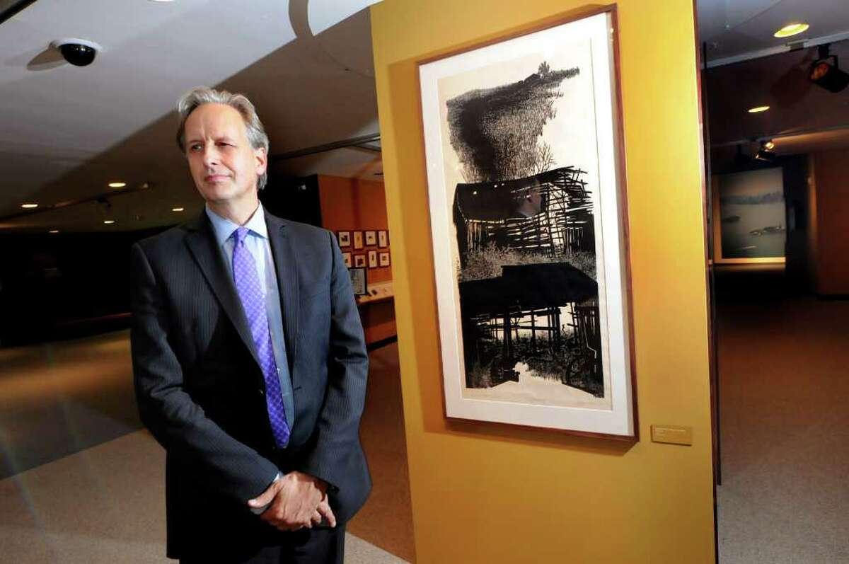 Mark Schaming, new director of the State Museum, is shown in 2011. Schaming was formerly director of exhibitions. (Cindy Schultz / Times Union archive)