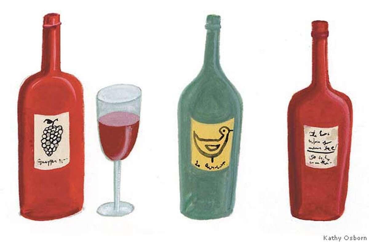 Smalll wine spots for Top 100 Wines in 12-03-06 Sunday Magazine
